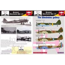 ROP 1/72 Decals Bristol Blenheim Mk IV. Axis the Blenheims.