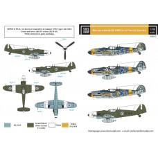 Messerschmitt Bf-109G-6 in Finnish Service 1/48 decals