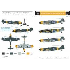 Messerschmitt Bf-109G-2 in Finnish Service 1/48 decals