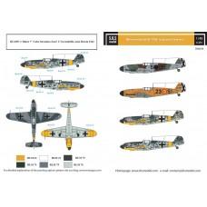 Messerschmitt Bf-109F in Spanish Service 1/48 decals