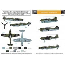Finnish Fighters - Post War Markings 1/48 decals