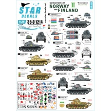German tanks in Norway and Finland II