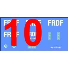 Finnish ISAF & FRDF decals 1/72