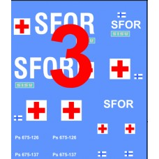 Finnish SFOR decals 1/72