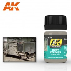AK 015 Dust Effects. Light Dust Wash for Europe