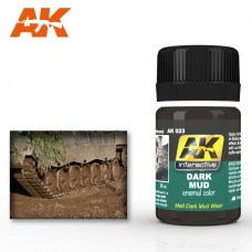 AK 023 Dark Mud. Matt Dark Mud Wash