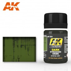 AK 024 Dark Streaking Grime for Dark Green Vehicles