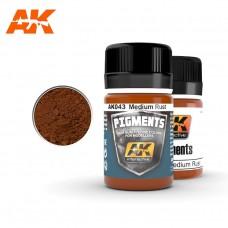 AK 043 Pigment Medium Rust