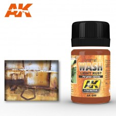 AK 046 Wash Light Rust for Green Vehicles