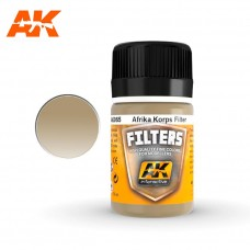 AK 065 Filters Light Brown For Desert Yellow