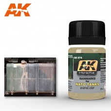 AK 074 Rainmarks for NATO Tanks