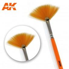 AK 580 Weathering Brush Fan Shape