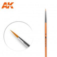 AK 601 Brush 3/0 Round