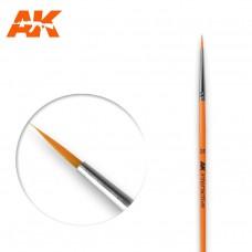 AK 602 Brush 2/0 Round