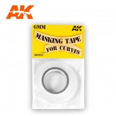 AK 6mm Masking Tape for Curves