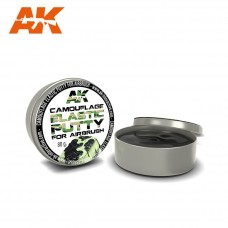 AK Camouflage Elastic Putty for Airbrush