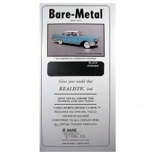 Bare-Metal Foil Black Chrome