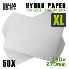 GSW Wet Hydro Paper XL x 50.