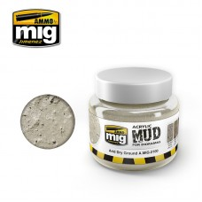 AMIG 2100 Acrylic Arid Dry Ground Mud for Dioramas.