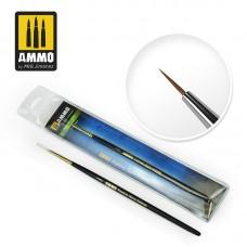 Amig 8600 5/0 5/0 Premium Marta Kolinsky Round Brush