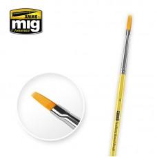 Amig 8620 4 Synthetic Flat Brush