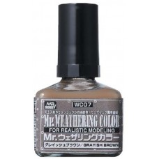 Mr. Weathering Color Grayish Brown