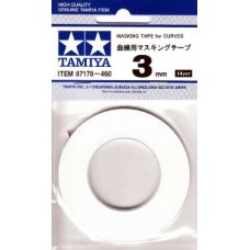 Tamiya Masking tape for Curves 3mm