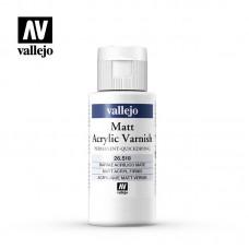 Vallejo 26.518 Matt Acrylic Varnish 60ml (quick dry)