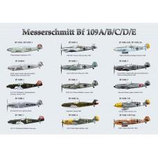 Juliste Bf109A-E