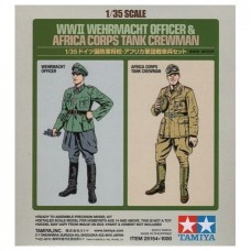 WWII Wehrmacht Officer & Africa Corps Tank Crewman