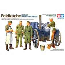 German Field Kitchen Scenery