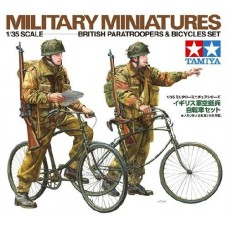 British Paratroopers & Bicycles Set