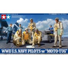 WWII USN Pilots w/Tug