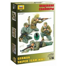 German Sniper Team WWII