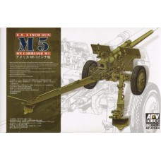 U.S.3 Inch Gun M5 on Carriage M1