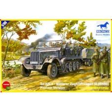 Sd.Kfz.6 - Mittlerer Zugkraftwagen 5t (B9N9b) Pioneer Version