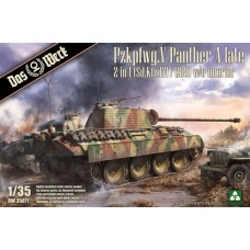 Pzkpfwg.V Panther A Late. 2 in 1 (Sd.Kfz.171/268)