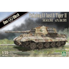 PzKpfwg.VI Ausf.B Tiger II. Sd.Kfz.182 - s.Pz.Abt.505