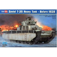 Soviet T-35 Heavy Tank - Before 1938