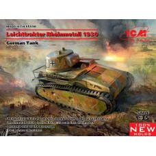 German Tank Leichttraktor Rheinmetall 1930