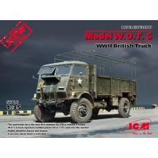 Model W.O.T. 6 WWII British Truck
