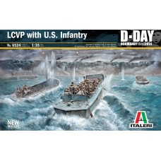 LCVP with US INFANTRY