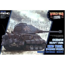 King Tiger (Porche Turret) German Heavy Tank WW Toons.