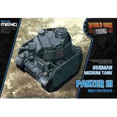 Panzer III German Medium Tank WW Toons.