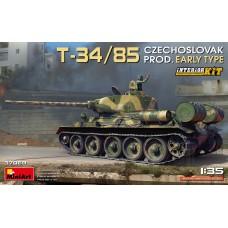 T-34/85 Czechoslovak prod. Early Type. Interior kit