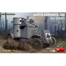 Austin Armoured Car 3rd Series. German, Austro-Hungarian, Finnish Service