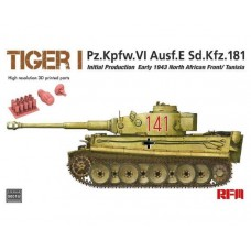 Tiger I Pz.Kpfw.VI Ausf.E Sd.Kfz.181 Initial Production Early 1943 North African Front/Tunisia