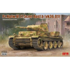 Pz.Kpfw.VI (7.5cm) Ausf.B (vk36.01) w/Workable Track Links