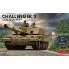 *Tulossa* British Challenger 2 w/workable track links