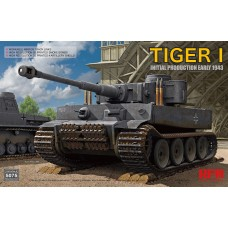 *Tulossa* Tiger I 100# initial production early 1943